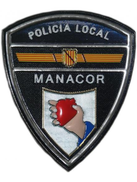POLICÍA LOCAL MANACOR PARCHE INSIGNIA EMBLEMA DISTINTIVO [0]