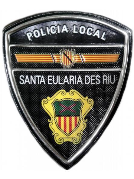 POLICÍA LOCAL SANTA EULARIA DES RIU PARCHE INSIGNIA EMBLEMA DISTINTIVO