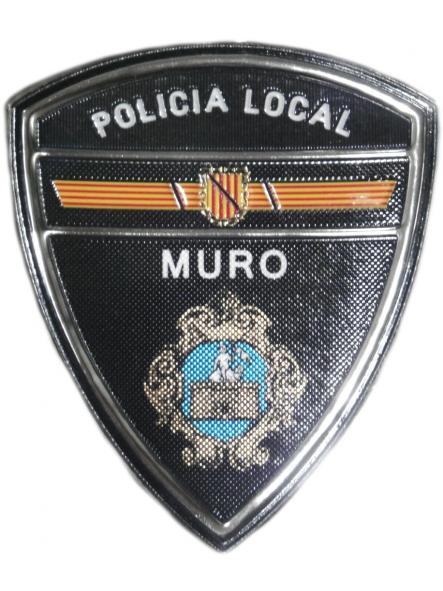 POLICÍA LOCAL MURO PARCHE INSIGNIA EMBLEMA DISTINTIVO