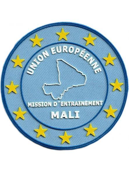 POLICÍA DE EUROPA EUROPOL MISIÓN DE ENTRENAMIENTO EN MALI PARCHE INSIGNIA EMBLEMA DISTINTIVO