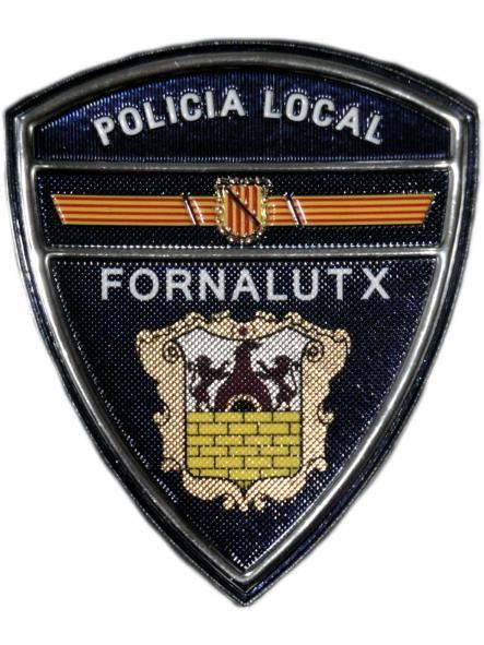 POLICÍA LOCAL FORNALUTX PARCHE INSIGNIA EMBLEMA DISTINTIVO [0]