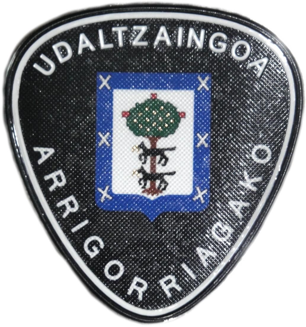 POLICÍA MUNICIPAL UDALTZAINGOA ARRIGORRIAGA PARCHE INSIGNIA EMBLEMA