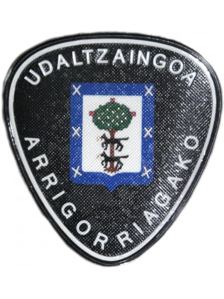 POLICÍA MUNICIPAL UDALTZAINGOA ARRIGORRIAGA PARCHE INSIGNIA EMBLEMA [0]