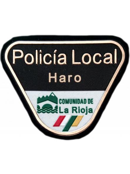 POLICÍA LOCAL HARO PARCHE INSIGNIA EMBLEMA DISTINTIVO