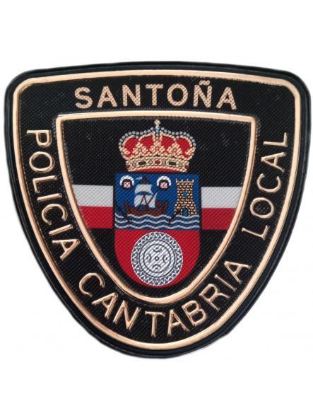 Policía Local Santoña Cantabria parche insignia emblema distintivo