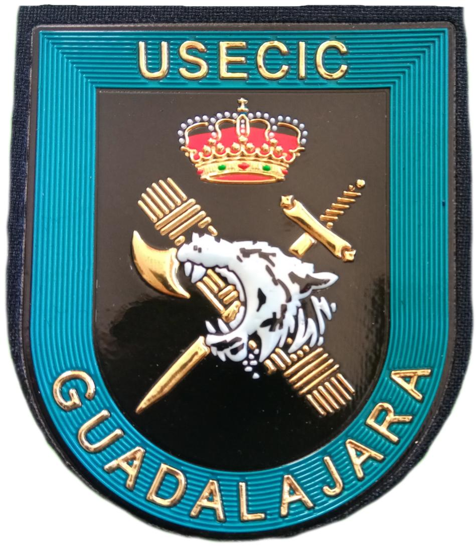 Guardia Civil Usecic Guadalajara parche insignia emblema distintivo