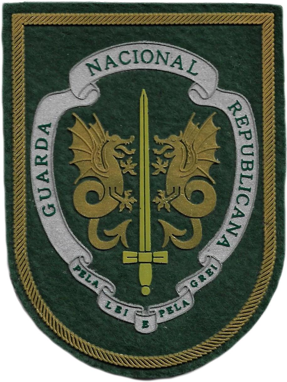 Guardia Nacional Republicana de Portugal GNR parche insignia emblema distintivo