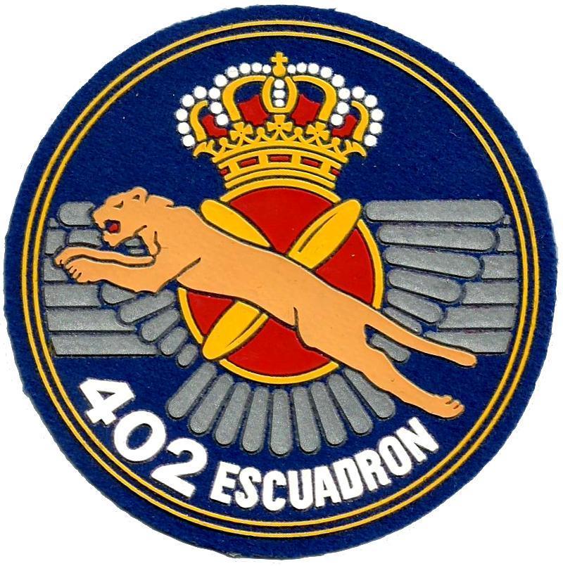 Ejército del aire escuadrón 402 parche insignia emblema distintivo