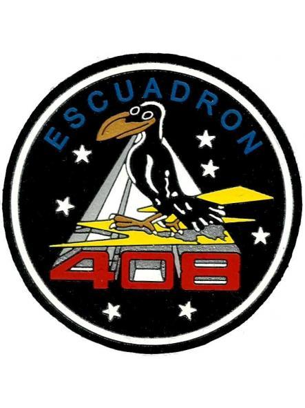 Ejército del aire escuadrón 408 parche insignia emblema distintivo