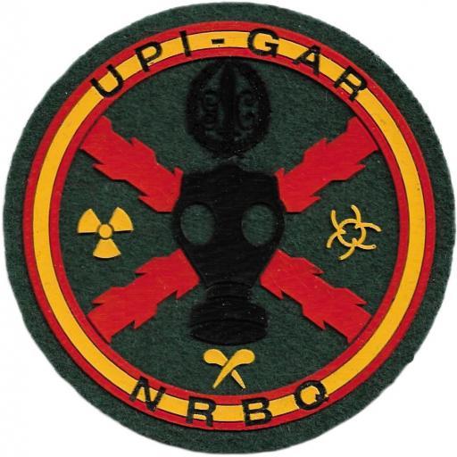 Guardia Civil UPI GAR NRBQ parche insignia emblema distintivo