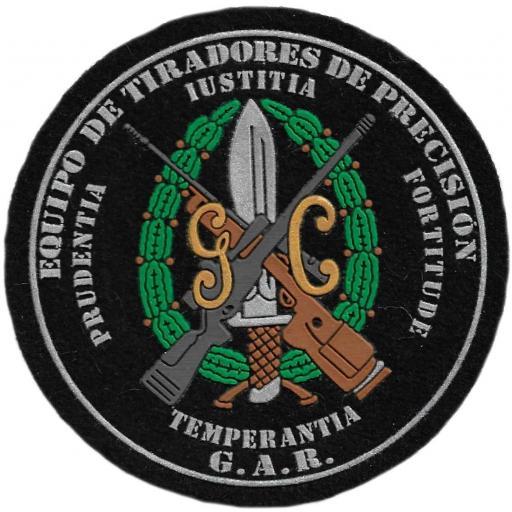 Guardia Civil GAR Equipo de Tiradores de Precisión parche insignia emblema distintivo