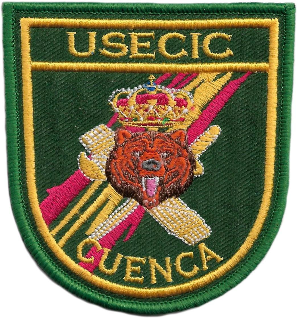 Guardia civil Usecic Cuenca parche insignia emblema distintivo