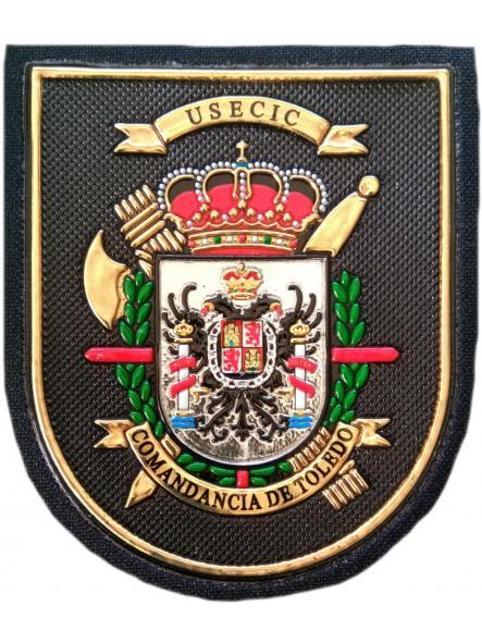 Guardia Civil Usecic Comandancia de Toledo parche insignia emblema distintivo