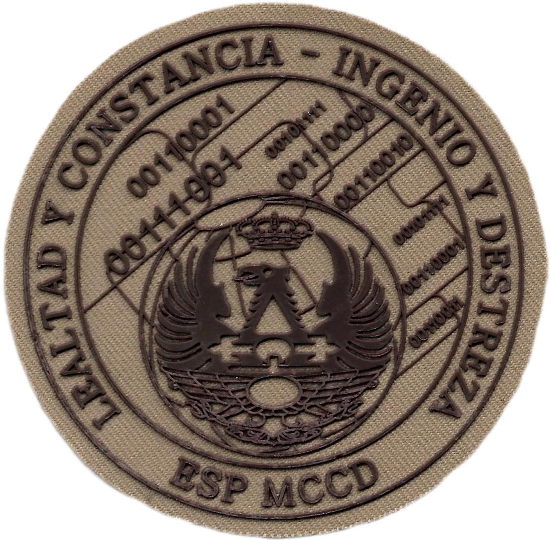 EJERCITO MANDO CONJUNTO DE CIBER DEFENSA PARCHE INSIGNIA EMBLEMA DISTINTIVO