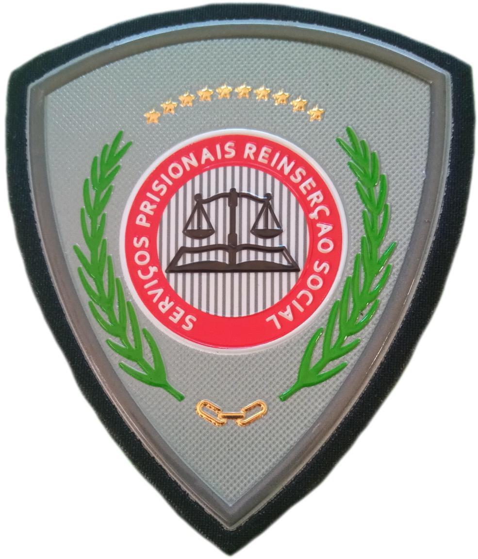 POLICÍA NACIONAL DE MOZAMBIQUE SERVICIO PRISIONES REINSERCIÓN SOCIAL PARCHE INSIGNIA EMBLEMA