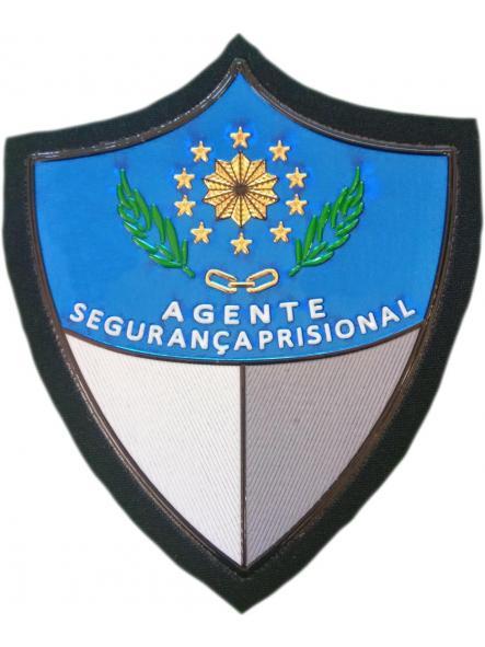 POLICÍA NACIONAL DE MOZAMBIQUE AGENTE DE SEGURIDAD DE PRISIONES PARCHE INSIGNIA EMBLEMA