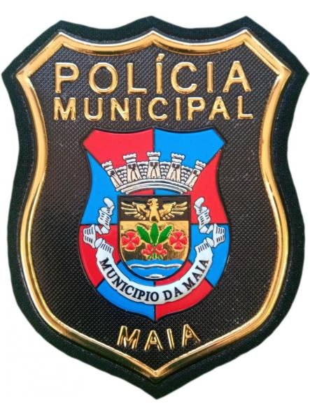 POLICÍA MUNICIPAL DE MAIA PORTUGAL PARCHE INSIGNIA EMBLEMA DISTINTIVO