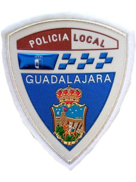 POLICÍA LOCAL GUADALAJARA PARCHE INSIGNIA EMBLEMA DISTINTIVO