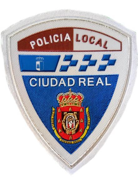 POLICÍA LOCAL CIUDAD REAL PARCHE INSIGNIA EMBLEMA DISTINTIVO