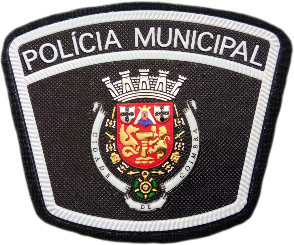 POLICÍA MUNICIPAL DE COIMBRA PORTUGAL PARCHE INSIGNIA EMBLEMA DISTINTIVO