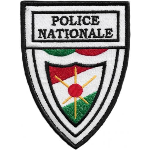 Policía Nacional de Niger parche insignia emblema distintivo