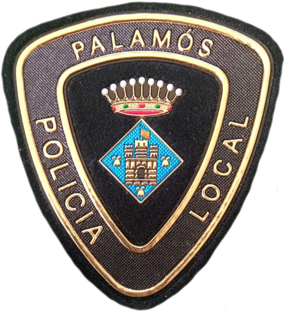 POLICÍA LOCAL PALAMÓS PARCHE INSIGNIA EMBLEMA DISTINTIVO