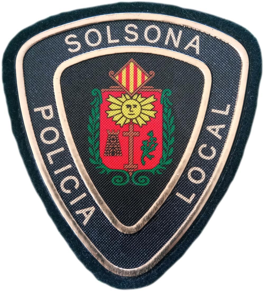 POLICÍA LOCAL SOLSONA PARCHE INSIGNIA EMBLEMA