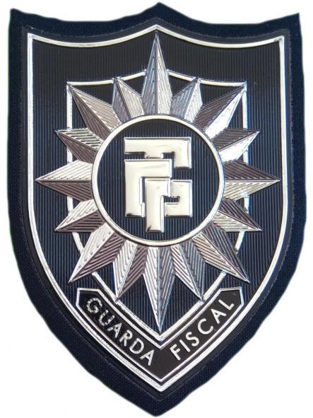 POLICÍA GUARDA FISCAL DE CABO VERDE PARCHE INSIGNIA EMBLEMA UNIFORME DE GALA