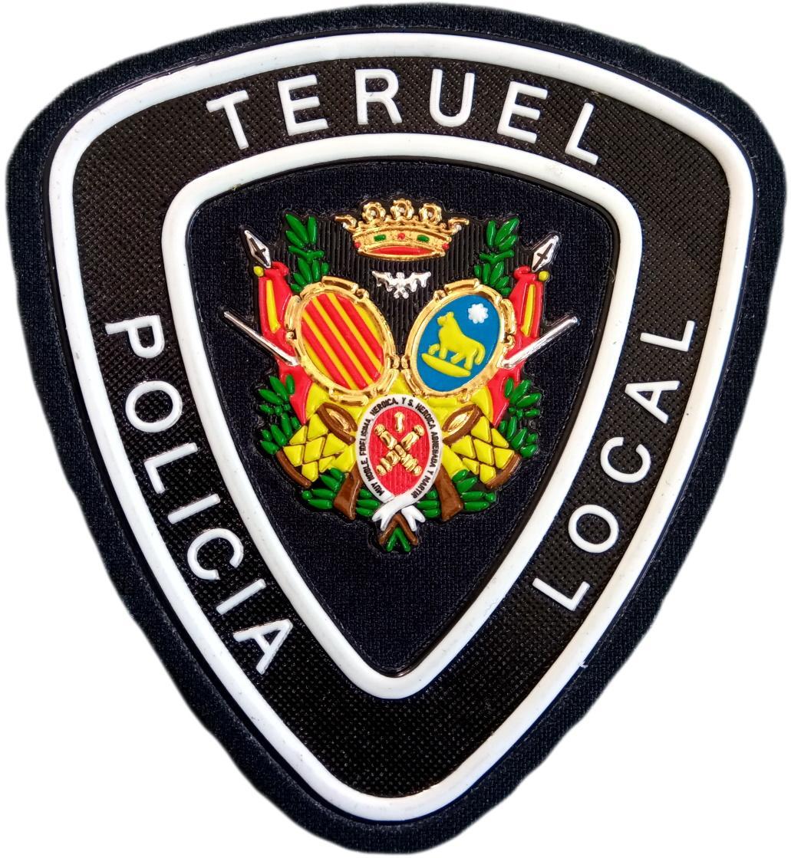 POLICÍA LOCAL TERUEL PARCHE INSIGNIA EMBLEMA DISTINTIVO