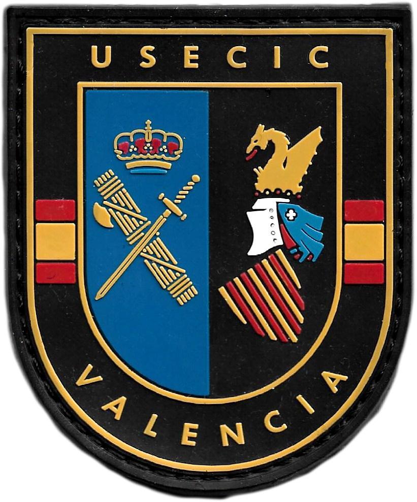 Guardia Civil Usecic Valencia parche insignia emblema distintivo