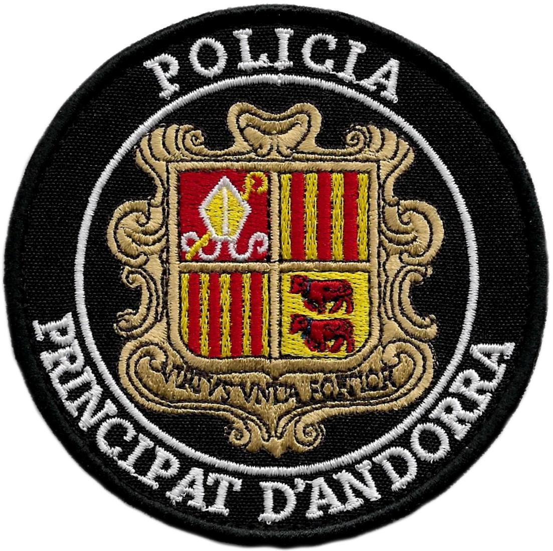 POLICÍA PRINCIPAT PRINCIPADO DE ANDORRA PARCHE INSIGNIA EMBLEMA DISTINTIVO