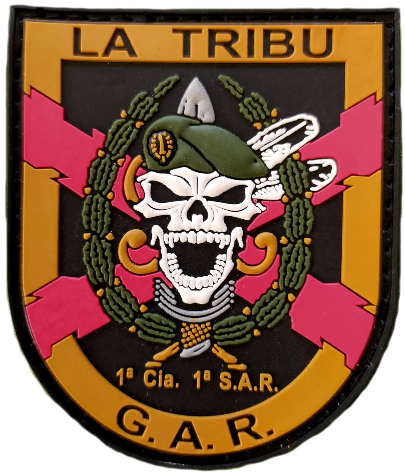 Guardia civil GAR La Tribu parche insignia emblema distintivo