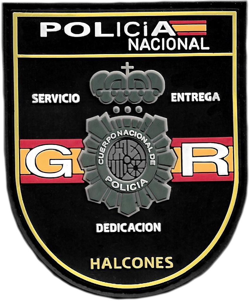 POLICÍA NACIONAL CNP GRUPO OPERATIVO DE RESPUESTA GOR HALCONES PARCHE INSIGNIA EMBLEMA DISTINTIVO