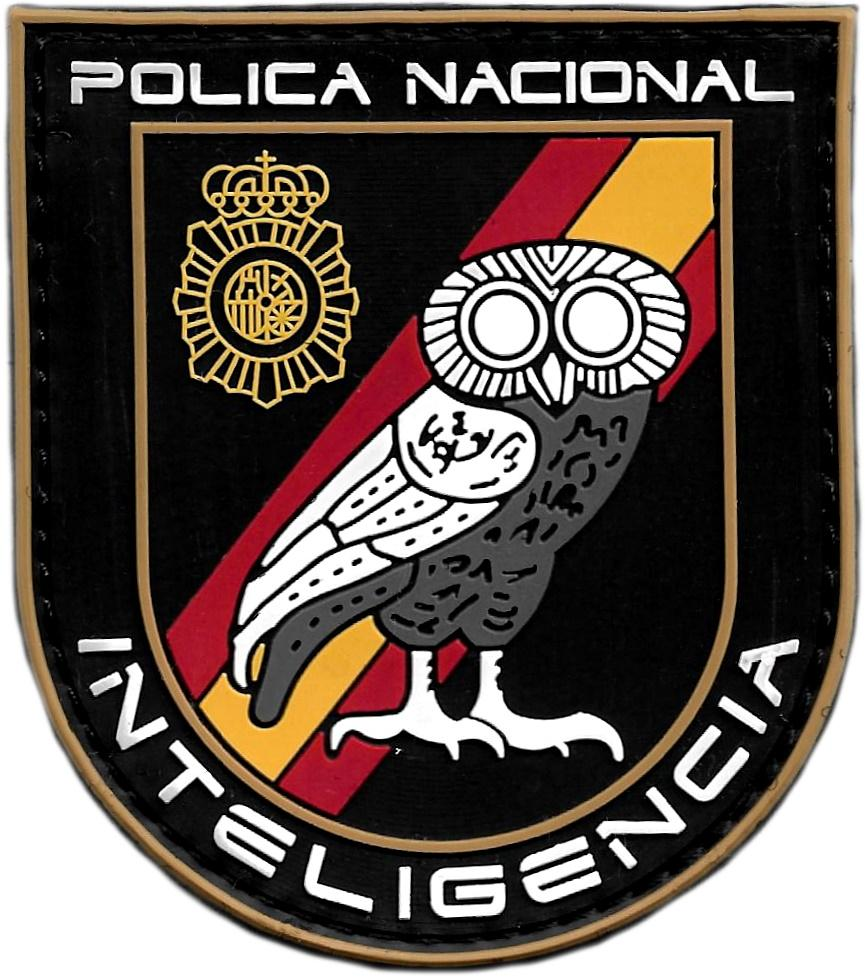 POLICÍA NACIONAL CNP INTELIGENCIA PARCHE INSIGNIA EMBLEMA DISTINTIVO