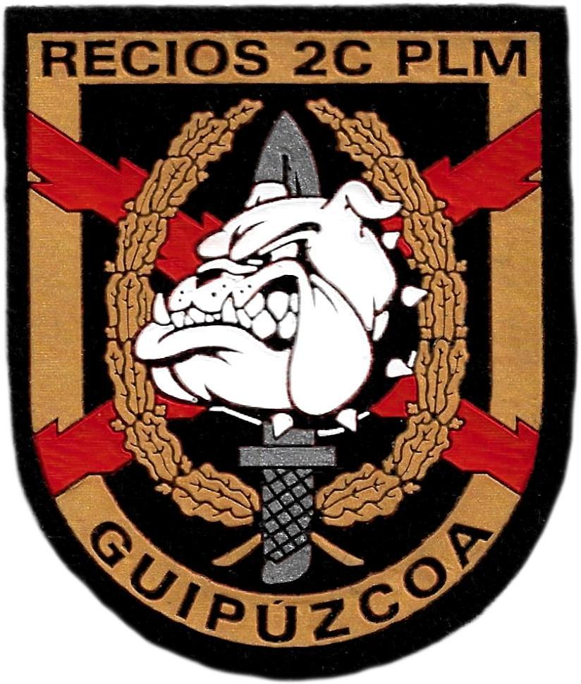 Guardia civil GAR Grupo acción rápida Antiterrorista Recios Guipúzcoa parche insignia emblema distintivo