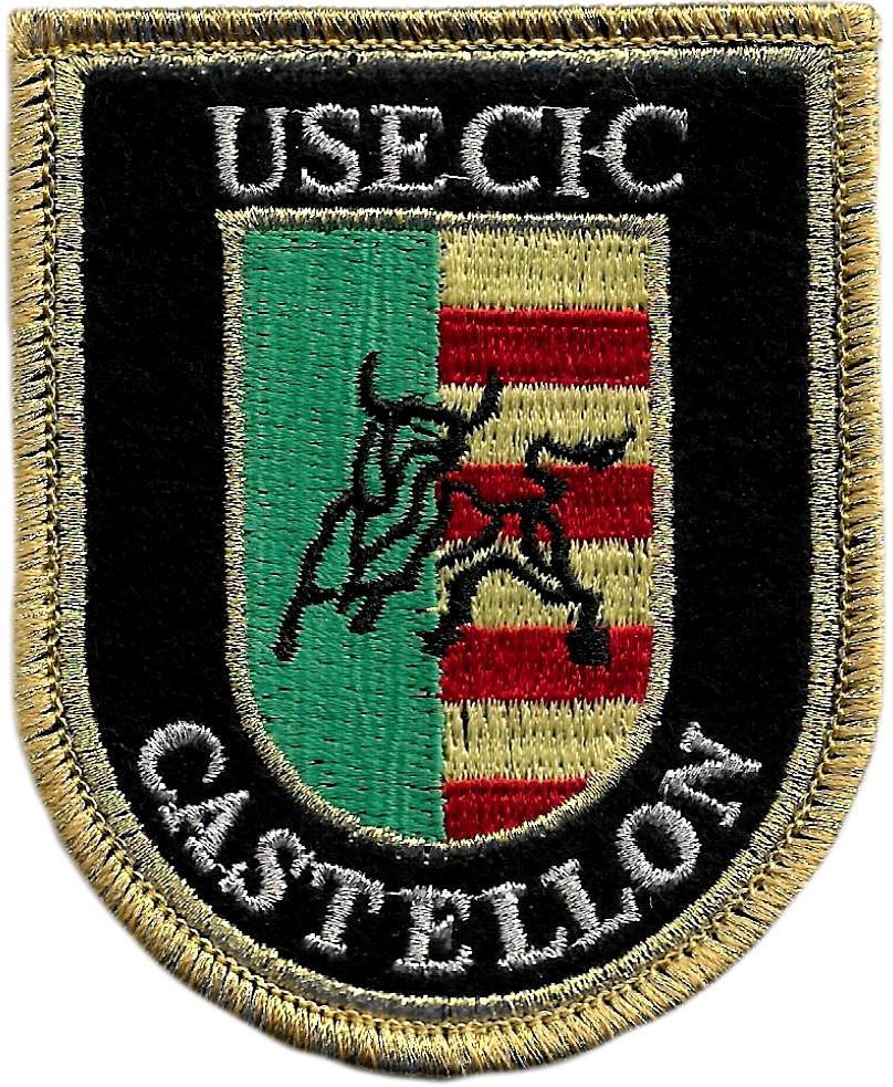 Guardia Civil Usecic Castellón parche insignia emblema distintivo bordado