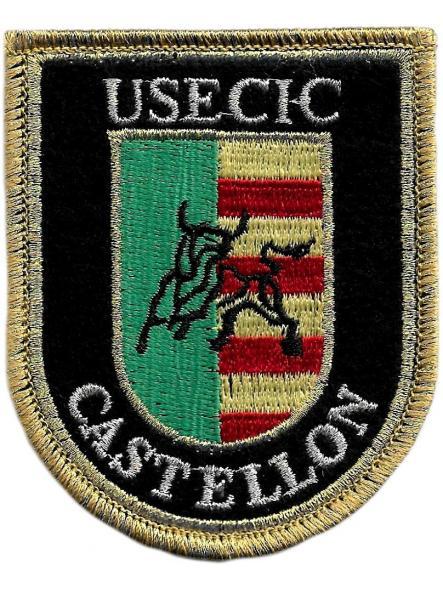 Guardia Civil Usecic Castellón parche insignia emblema distintivo bordado  [0]