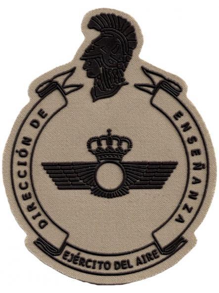 Ejército del Aire Dirección de Enseñanza parche insignia emblema distintivo