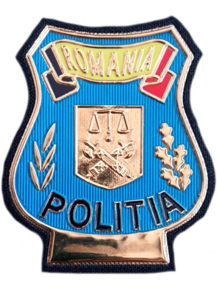Policía Nacional de Rumania Politia parche insignia emblema distintivo