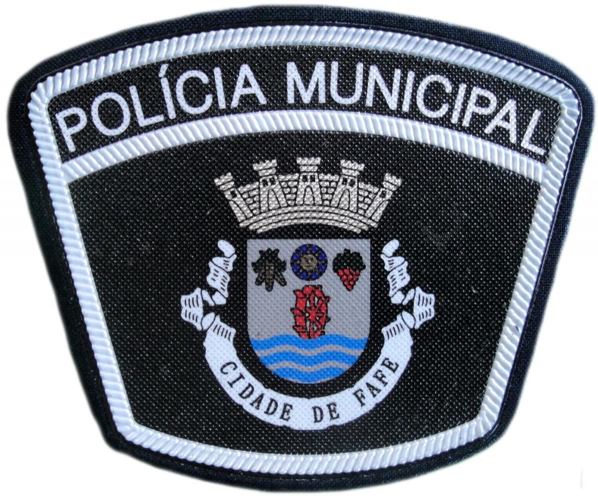 Policía Municipal Ciudad de Fafe Portugal parche insignia emblema distintivo