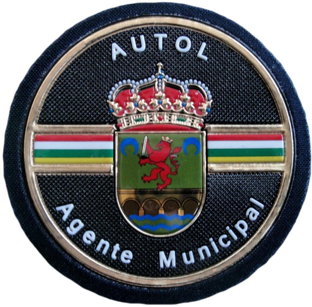 Policía Local Autol Agente Municipal La Rioja parche insignia emblema distintivo