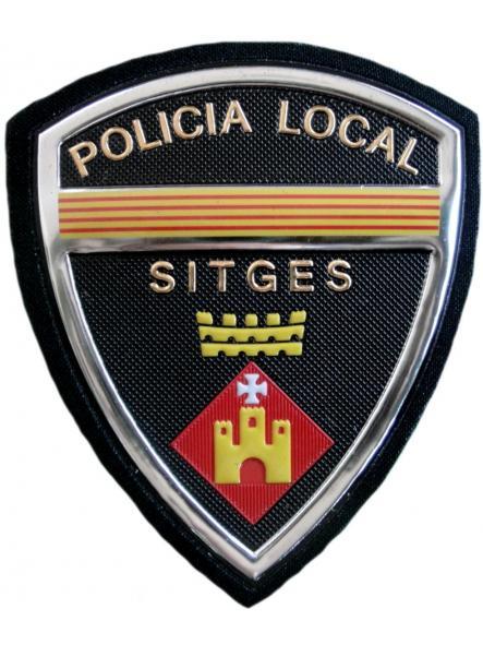 Policía Local Sitges parche insignia emblema distintivo