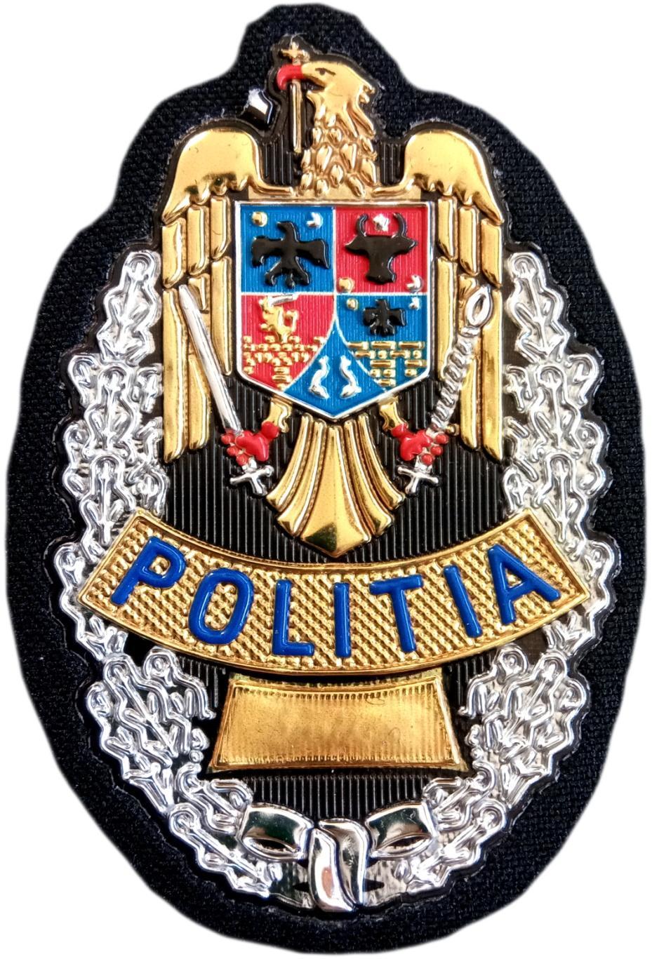 Policía Local de Rumania Politia Locala parche insignia emblema distintivo
