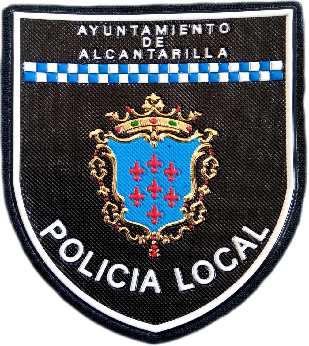 Policía Local Alcantarilla parche insignia emblema distintivo