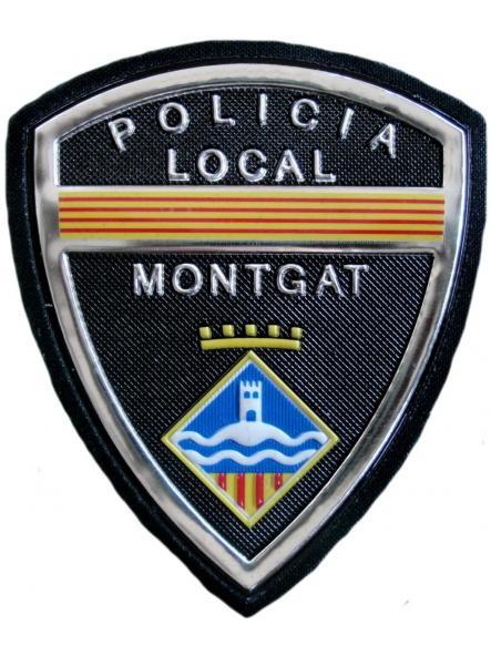 Policía Local Montgat parche insignia emblema distintivo