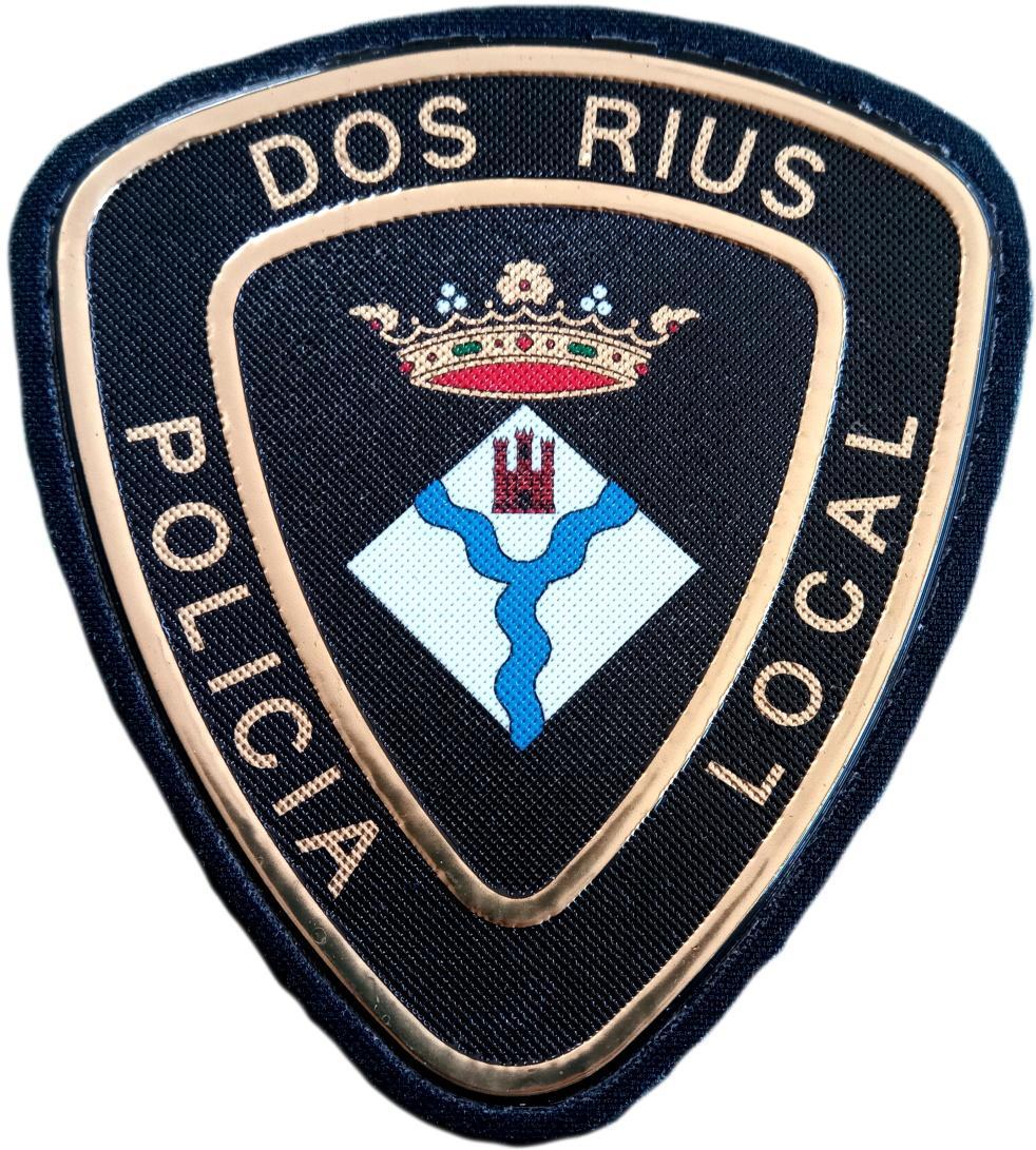 POLICÍA LOCAL DE DOS RIUS PARCHE INSIGNIA EMBLEMA DISTINTIVO