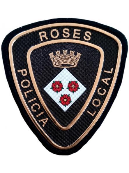 POLICÍA LOCAL DE ROSES PARCHE INSIGNIA EMBLEMA DISTINTIVO