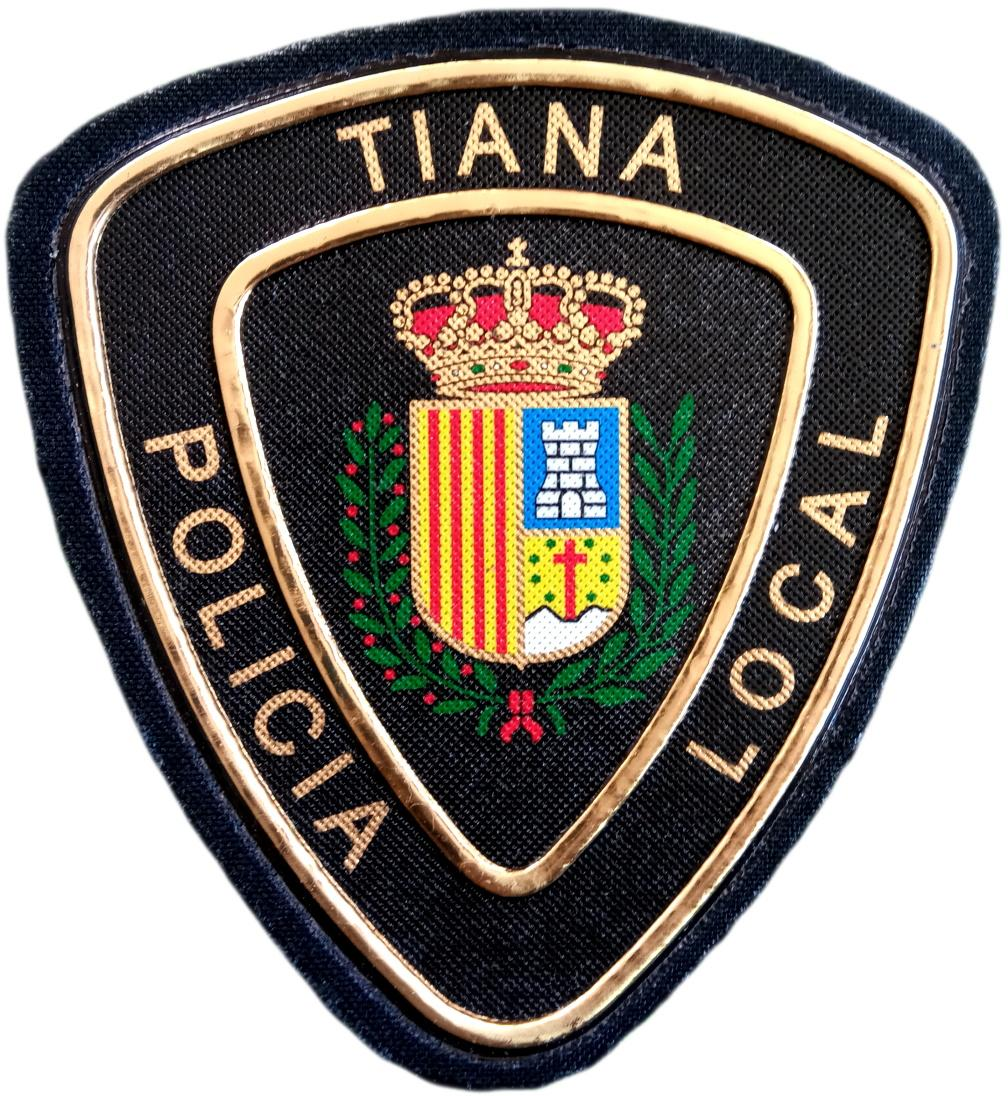 POLICÍA LOCAL DE TIANA PARCHE INSIGNIA EMBLEMA DISTINTIVO