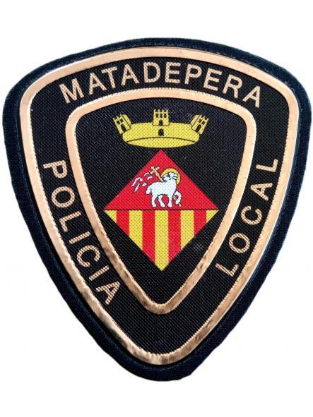 POLICÍA LOCAL DE MATADEPERA PARCHE INSIGNIA EMBLEMA DISTINTIVO