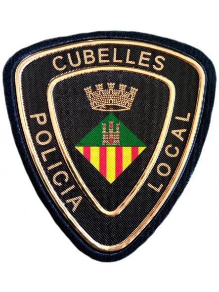 POLICÍA LOCAL DE CUBELLES PARCHE INSIGNIA EMBLEMA DISTINTIVO